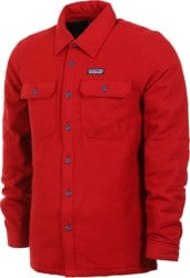 Patagonia Insulated Fjord Flannel Jacket - oxide red