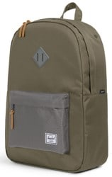 Herschel Supply Heritage Backpack - ivy green/smoked pearl