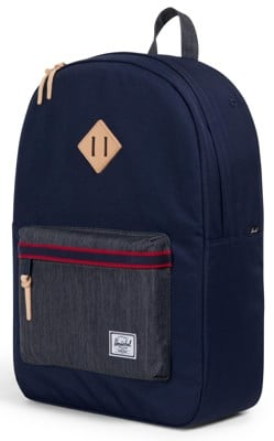 Herschel Supply Heritage Backpack - offset peacoat/dark denim - view large