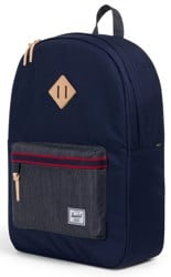 Herschel Supply Heritage Backpack - offset peacoat/dark denim