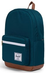 Herschel Supply Pop Quiz Backpack - deep teal/tan