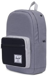 Herschel Supply Pop Quiz Backpack - mid grey crosshatch/black