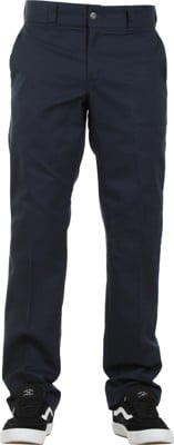 Dickies Industrial Slim Straight Work Pants - dark navy - view large
