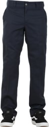 Dickies Industrial Slim Straight Work Pants - dark navy