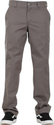 Dickies Industrial Slim Straight Work Pants - gravel gray