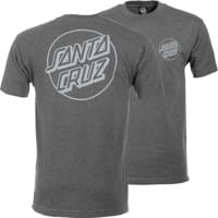 Santa Cruz Opus Dot T-Shirt - charcoal heather