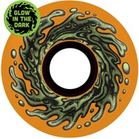 Santa Cruz Slime Balls Skateboard Wheels - orange glow (78a)