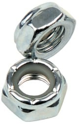 Independent Genuine Parts Kingpin Nuts (Pair) - silver