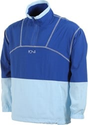 Polar Skate Co. Wilson Quarter Zip Jacket - royal blue