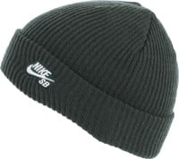 Nike SB Fisherman Beanie - midnight green/white