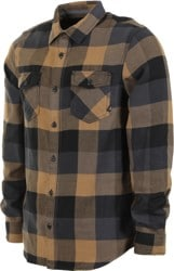 Vans Box Flannel - dirt/black