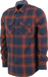 Vans Monterey III Flannel Shirt - dress blues/sequoia