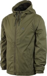 Volcom Ermont Windbreaker - military
