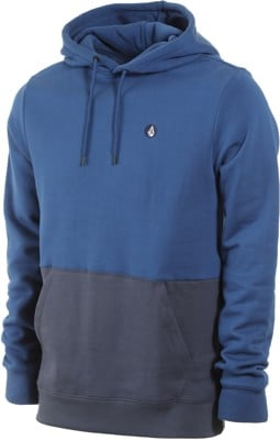 Volcom Single Stone Division Hoodie - matured blue - view large