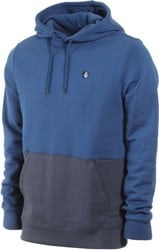 Volcom Single Stone Division Hoodie - matured blue