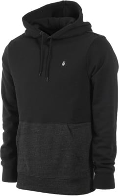 Volcom Single Stone Division Hoodie - sulfur black - view large