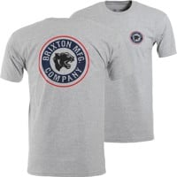 Brixton Forte II T-Shirt - heather grey