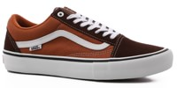 Vans Old Skool Pro Skate Shoes - potting soil/leather brown