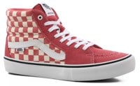 Vans Sk8-Hi Pro Skate Shoes - (checkerboard) desert rose