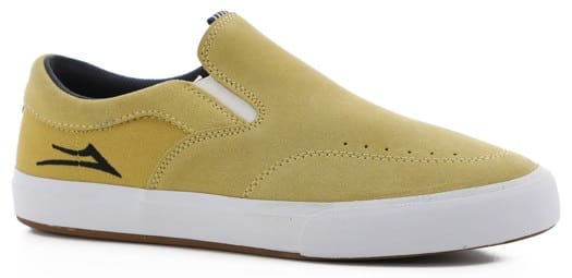 Lakai Owen VLK Slip-On Shoes - dusty yellow suede - view large