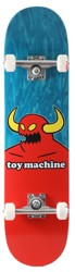 Toy Machine Monster 7.375 Mini Complete Skateboard - teal
