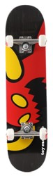 Toy Machine Vice Monster 7.375 Mini Complete Skateboard - black