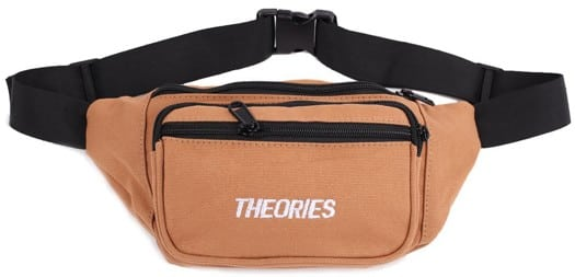 Theories Stamp Day Hip Pack - brown/white - view large