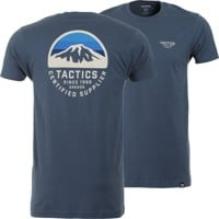 Tactics Bachelor T-Shirt - indigo