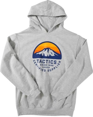 Tactics Kids Bachelor Pullover Hoodie - heather grey - view large