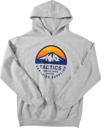 Tactics Kids Bachelor Pullover Hoodie - heather grey