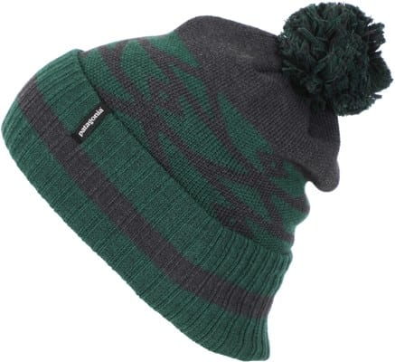 Patagonia Powder Town Beanie - geo site: micro green - view large