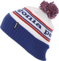 Patagonia Powder Town Beanie - park stripe: viking blue