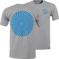 Spitfire Classic Swirl T-Shirt - athletic heather/blue