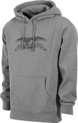 Anti-Hero Basic Eagle Hoodie - gunmetal heather/grey