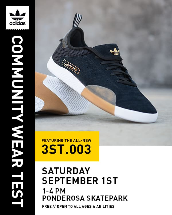 save off c40e9 8158d Adidas 3ST.003 Community Wear Test  Sept. 1