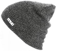 Neff Daily Heather Beanie - black/white v1