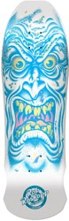 Santa Cruz Roskopp Face 9.5 LTD Reissue Skateboard Deck - matte white dip