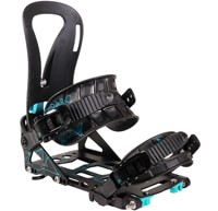 Spark R&D Women's T1 Arc Splitboard Bindings 2019 - black/teal