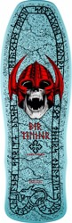 Powell Peralta Welinder Nordic Skull 9.625 Skateboard Deck - light blue