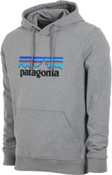 Patagonia P-6 Logo Uprisal Hoodie - gravel heather