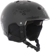 Sandbox Legend Snowboard Helmet - black roses (matte/gloss)