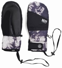 Neff Digger Mitts - black bleach