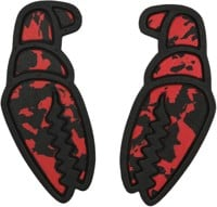 Crab Grab Mega Claws - black & red swirl