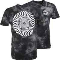 Spitfire Classic Swirl T-Shirt - black crystal wash