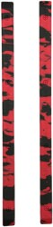Crab Grab Skate Rails - red & black swirl