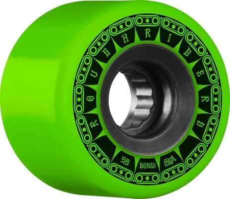 Bones ATF Rough Riders Skateboard Wheels - tank green (80a) - view large