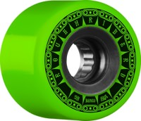 Bones ATF Rough Riders Skateboard Wheels - tank green (80a)