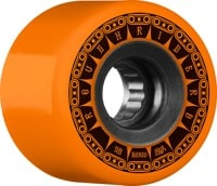 Bones ATF Rough Riders Skateboard Wheels - tank orange (80a)