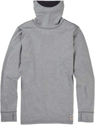 Burton Midweight Long Neck - monument heather