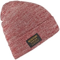 Burton Kactusbunch Tall Beanie - sparrow/stout white marle